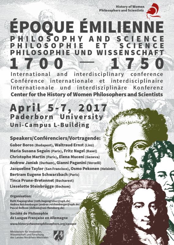 Époque Émilienne – Philosophy and Science 1700-1750