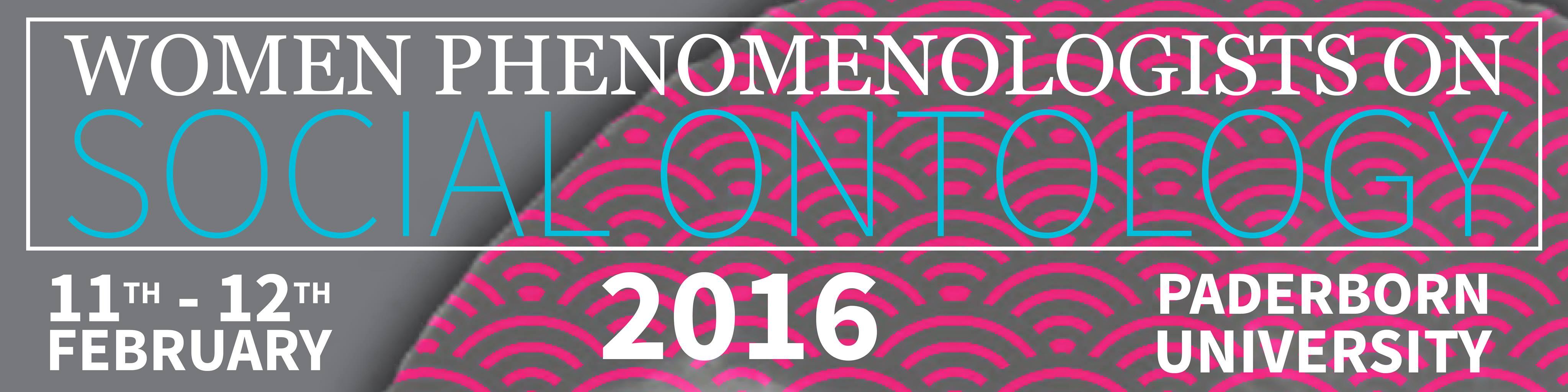 Women Phenomenologists on Social Ontology