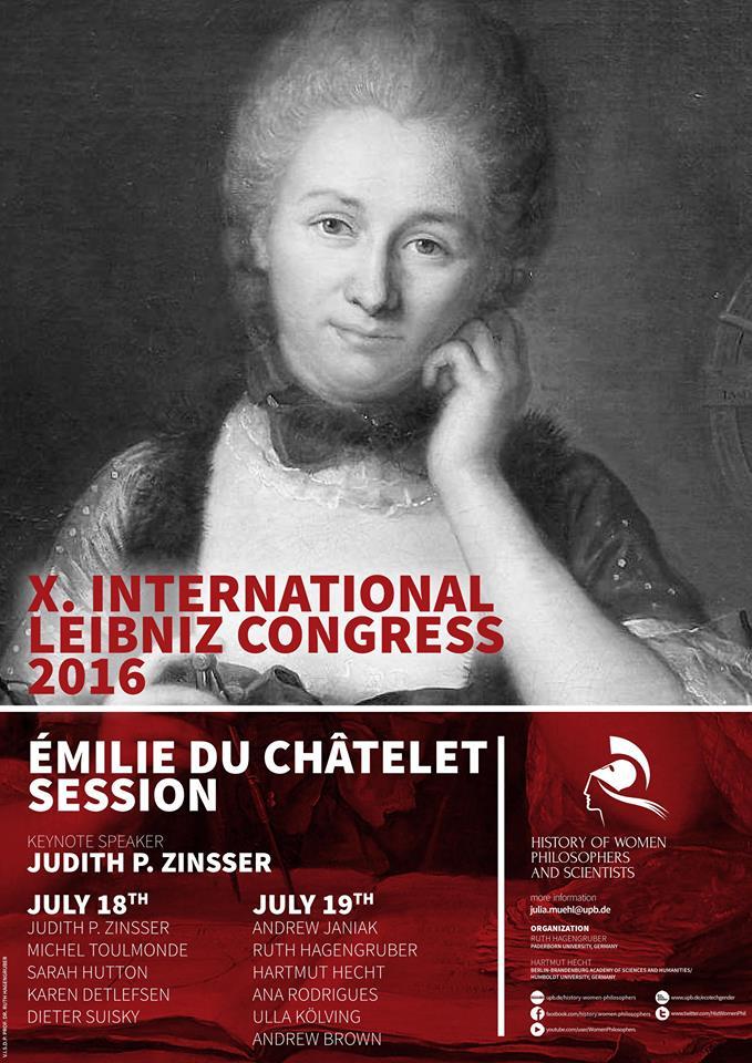 Émilie Du Châtelet Session