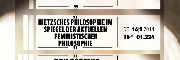 """Prof. Dr. Sigríður Þorgeirsdóttir: """"Nietzsches Philosophie im Spiegel der aktuellen feministischen Philosophie."""""""